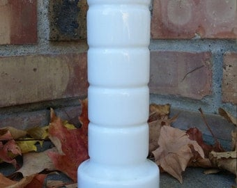 Vintage Milk Glass Vase 1950's/60's
