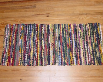 "Handwoven Rag Rug ""Corn Beauty"""