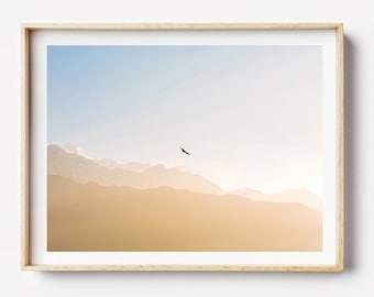 Nepal Photography Print - Nepal Mountains I, Photographic Art, Wall Art, Framed Photo Print, Photographic Print, Nepal Art, Photography Art