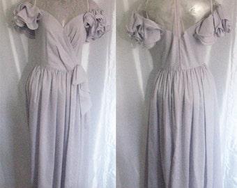 Vintage Lavender Party Dress