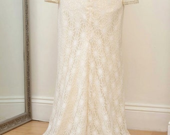 AMAZING all the SAME PRICE Sale of Sample Gowns... 'Grace' Vintage, Lace, Beaded, Gown.