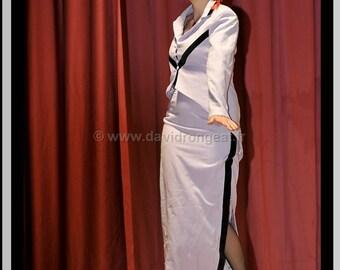 All tailor jacket + skirt T 38/40