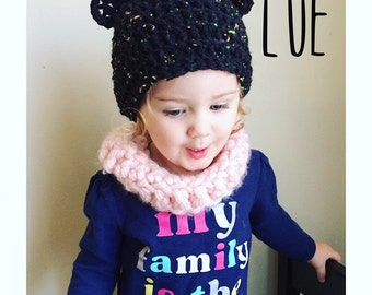 Bear Hat/Crochet toddler Bear Hat/Photo Prop