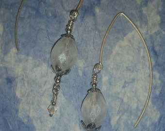 Frosted Ivory Earrings