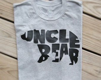 Uncle Bear Shirt, Uncle Bear Tshirt, Uncle Shirt, Uncle Tshirt, Uncle Gift, Best Uncle Ever, Uncle To Be, Bear Family Shirts, New Uncle Gift