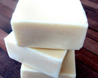 Lemon & Lavender Lotion Bar made with Essential Oils All Natural Organic Handmade Solid Lotion