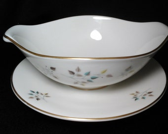 Riviera Gravy Boat, Princess China Ironstone in Excellect Condition