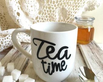 Tea time tea cup