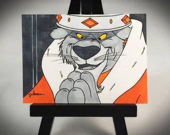 Halloween Prince John - Artist Trading Card