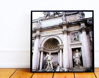 Trevi Fountain 5x5 Tiny Photo Print
