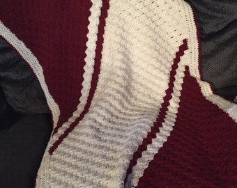 Fairmont State University afghan