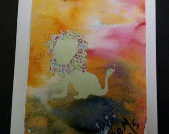 Lion - ArtCardz - Creatures Great and Small line