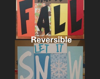 Fall/Winter reversible decoration