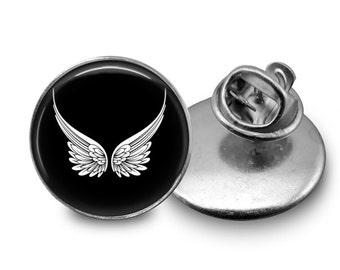 Angel Wings Tie Tack 16mm Tie Pin Lapel pin