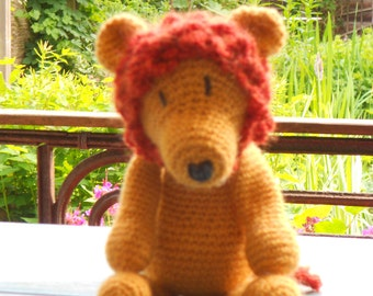 Crochet Cuddly Lion