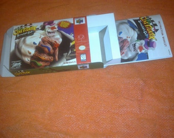 Clay Fighter Sculptor's Cut BOX&MANUAL Nintendo 64 НАNDМАDЕ