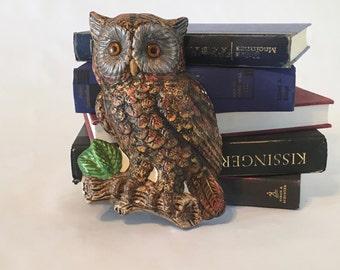 Adorable Ceramic Owl Decor