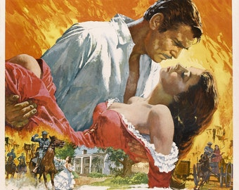 Gone with the Wind Vintage A1 Poster