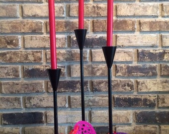 CANDLE HOLDERS  Set of Three