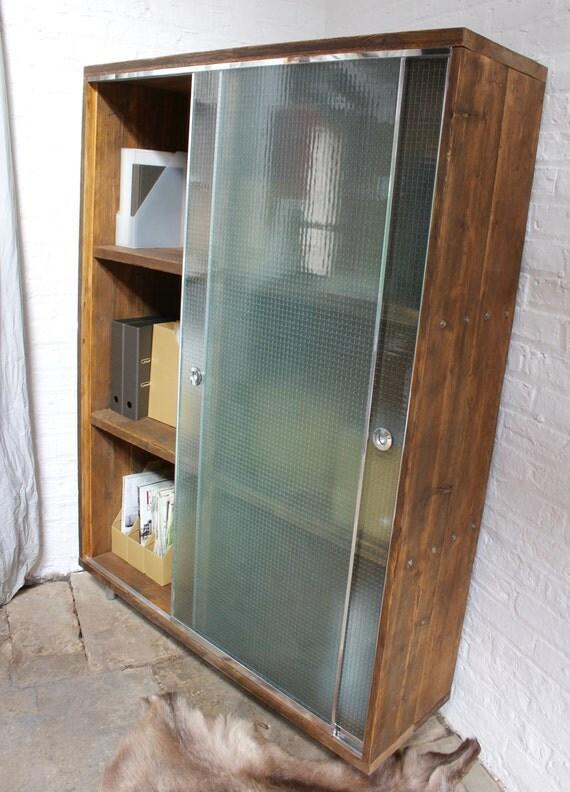 Wilkinson Reclaimed Scaffolding Board Stationery Cupboard with