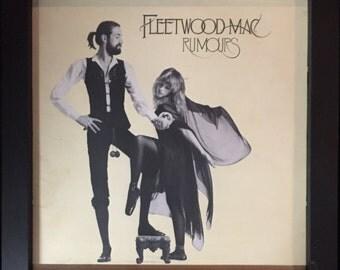 Fleetwood Mac Rumours Framed Vinyl Record