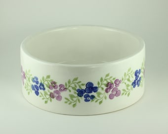 Dog Bowl - Posy Stoneware