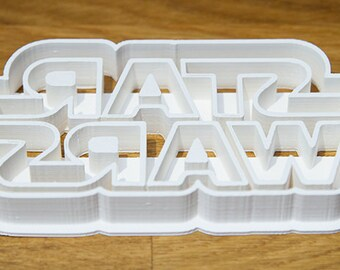 Large Star Wars Cookie Cutter (10 Colours) - UK Seller