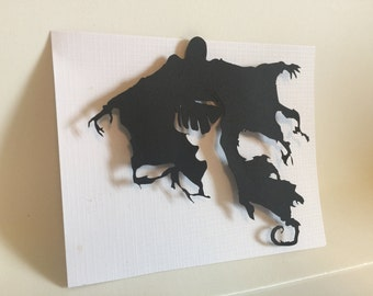 Dementor Patronus 3D Cut Out, Harry Potter