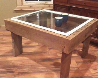 Open Window Coffee Table