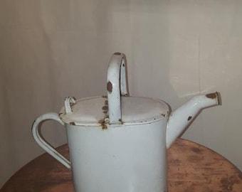1920's Vintage Enamel Watering Can