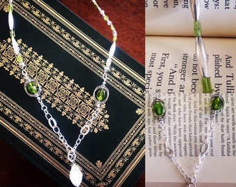 Moonstone and Peridot Necklace