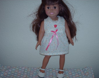 Cool summer dress for American Girl doll.