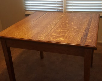 Quarter-Sawn White Oak Dining Table