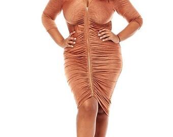Pus size dress