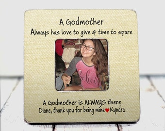 godmother gift godmother frame godfather gift godfather frame godparent gift from godchild customize with any saying tpfs