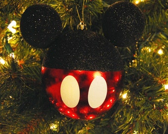 Large Mickey-shaped Ornament-Classic Mickey