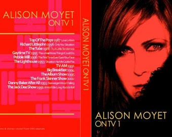 Alison Moyet On TV 2 DVD Set Rare Performances