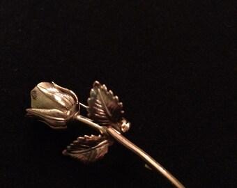 Vintage Rosebud Pin