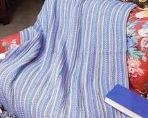 Sporty Braids, Annie's Attic Crochet Afghan & Quilt Pattern Club Leaflet QAC344-03