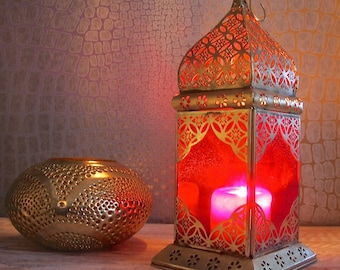 Pink Moroccan Lantern LT071