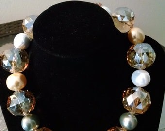 Crystal Beads and Pearls