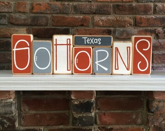 University of Texas Longhorns Blocks