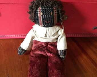 Red Fish Rag Doll