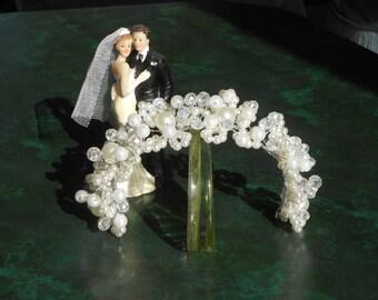 Wedding Hair Jewelry, crystal freshwater pearl wedding hair, bridal hair accessories, bridal hair pear, Ivory Pearl