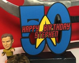 Star Trek Inspired Birthday Centerpiece