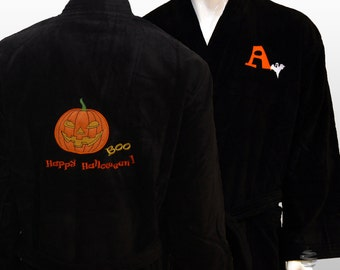Personalized Halloween Costume Black Robe