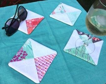 Cotton Coasters (set of 4) - Multiple Options