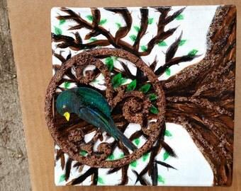 Bird and Beads