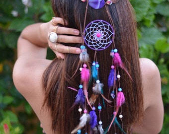 Fairy Dreaming headpiece - festival hippie gypsy chic