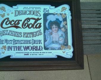 Coca Cola Mirror Etsy
